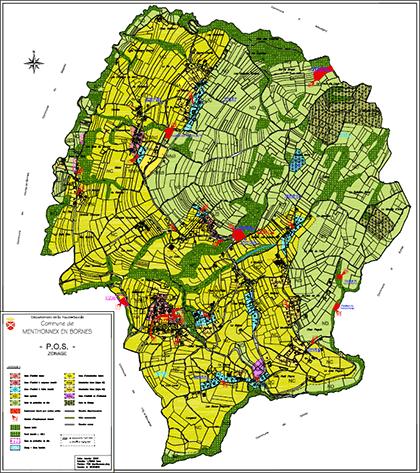 Plan d'Occupation des Sols (POS) - Zonage