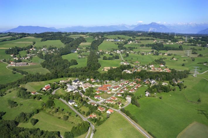 Vue aérienne du Chef-Lieu - @ECTM