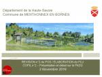 Révision n°2 du POS / Elaboration du PLU COPIL n°2 – Présentation et débat sur le PADD - Novembre 2016 (format PDF, 4 Mo)