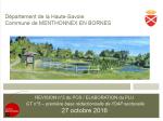 Révision n°2 du POS / Elaboration du PLU - GT n°5 – Première base rédactionnelle de l'OAP sectorielle - octobre 2016 (format PDF, 4 Mo)