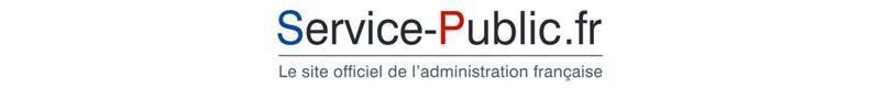 Logo du site officiel de l'administration française