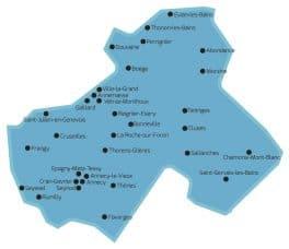 Mairies de Haute-Savoie équipées de stations biométriques