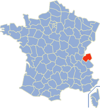 Carte des départements français (source : Wikipedia)
