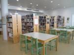 Eventail de livres de la bibliothèque