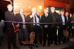 Inauguration de la cantine scolaire le 29 janvier 2016