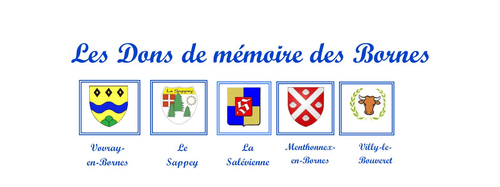 Dons de Mémoire des Bornes