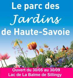 Ouverture du Parc des Jardins de Haute-Savoie