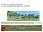 Révision n°2 du POS / Elaboration du PLU Réunion du GT2, Diagnostic Agricole / consommation spatiale, juin 2016 (format PDF, 1,83 Mo)