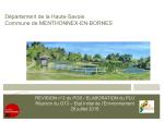 Révision n°2 du POS / Elaboration du PLU Réunion du GT3, Etat Initial de l'Environnement, juillet 2016 (format PDF, 3,34 Mo)