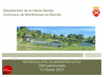 Révision du POS / Elaboration du PLU Réunion du GT7, OAP patrimoniale, février 2017 (format PDF, 3 Mo)