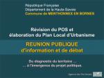 Elaboration du PLU - Réunion publique n°2 (format PDF, 8 Mo)