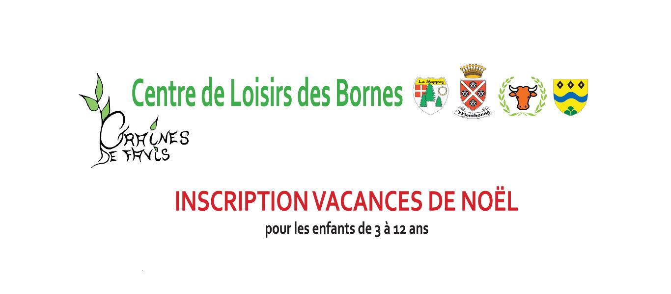 Centre de Loisirs des Bornes – Vacances de Noël 2016