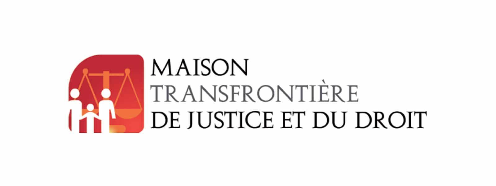 Logo de la Maison transfrontière de justice et du droit