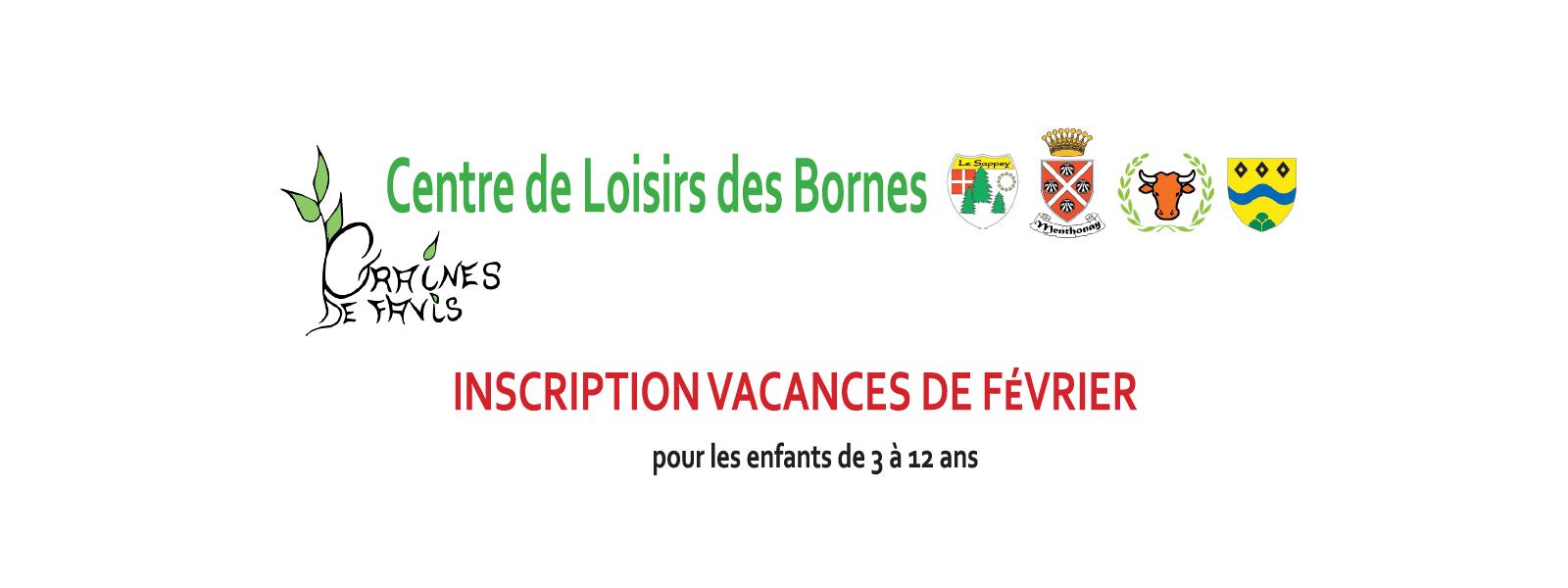 Centre de Loisirs des Bornes – Vacances de Février 2017