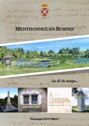 Couverture du livre Menthonnex-en-Bornes au fil fdu temps