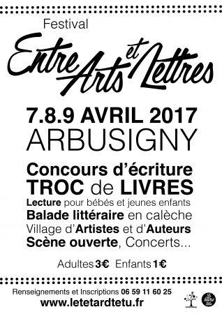 Affiche du Festival du Tétard Têtu 2017