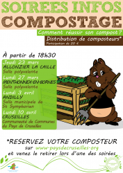 Affiche infos compostage