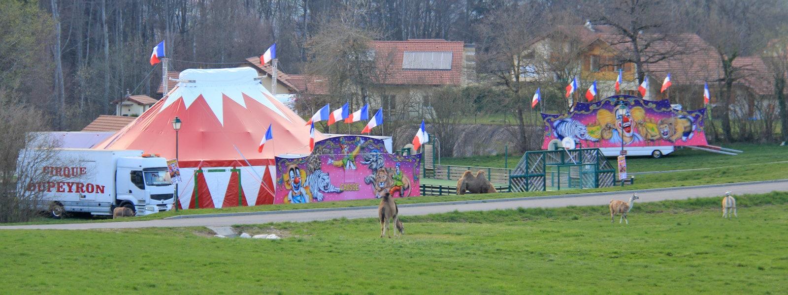 Cirque Dupeyron à l'agorespace mardi 4 avril à 18h et mercredi 5 avril à 16h.