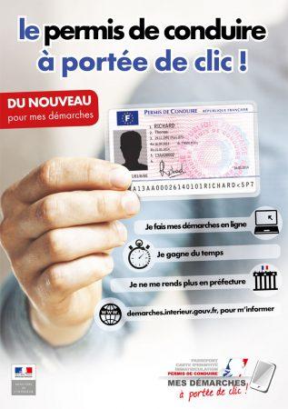 Dématérialisation des procédures de demande de permis de conduire