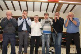 Harmonica des Bornes lors de la cérémonie des voeux 2018