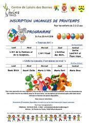Centre-Loisirs-Bornes-Programme-Avril-2018