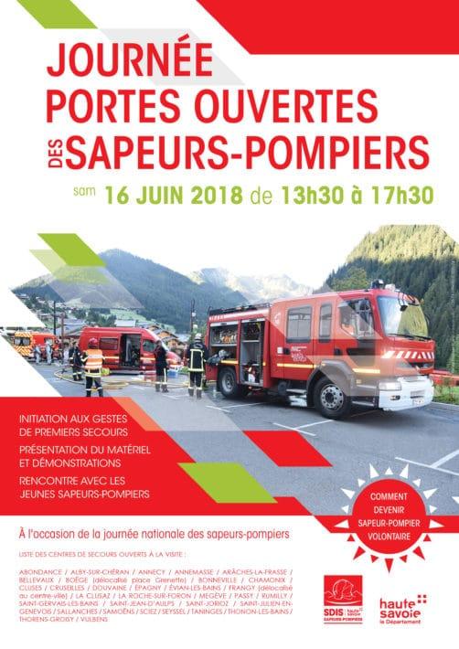 Journée portes ouvertes dans 32 centres d'incendie et de secours du département.