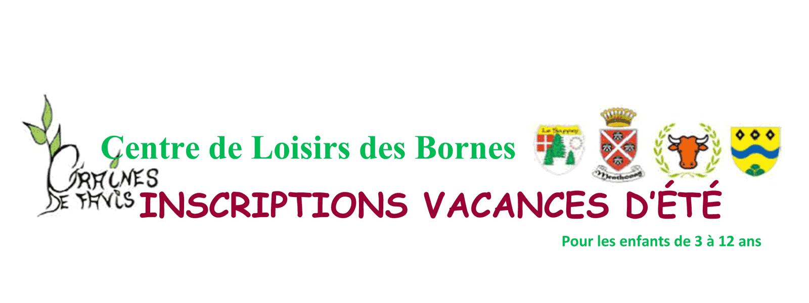 Centre de Loisirs des Bornes - Vacances d'été 2018
