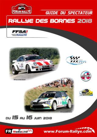 Guide du spectateur - Rallye des Bornes 2018