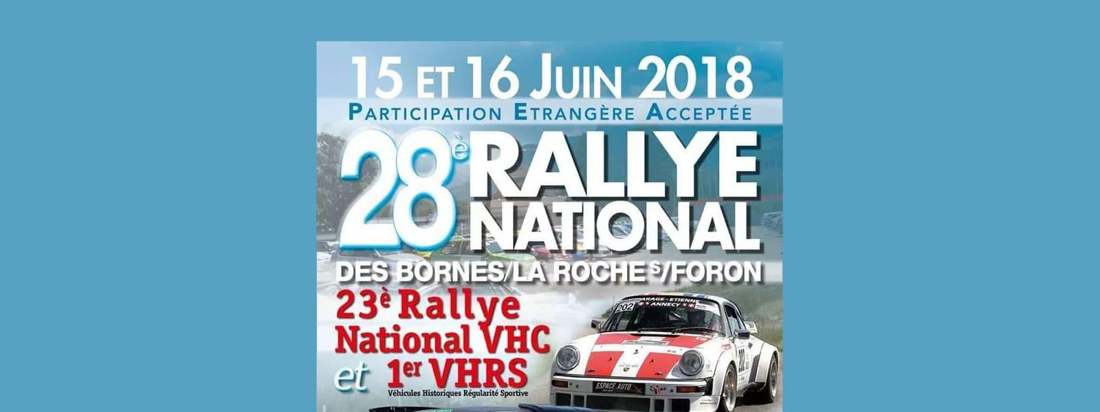 28ème rallye des Bornes/La Roche sur Foron
