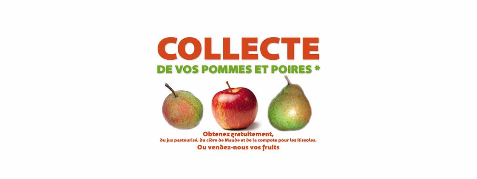 Service gratuit de pressage des fruits des vergers