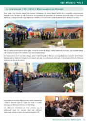 Bulletin 2018 - Centenaire 1914-1918