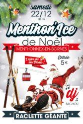 Menthon'Ice le 22 décembre 2018 dès 19h.