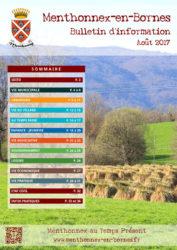 Couverture du bulletin d'info 2017