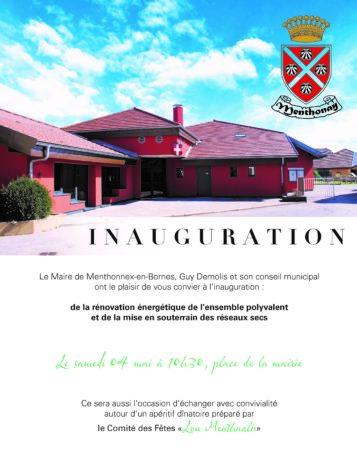 Inauguration de l'ensemble poyvalent