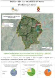 Bilan financier du Contrat de Territoire du Plateau des Bornes 2015-2019 (format PDF, 694 KB)