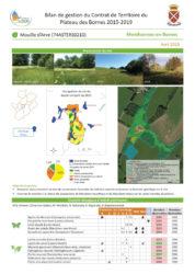 Bilan de gestion du Contrat de Territoire du Plateau des Bornes 2015-2019 (format PDF, 3 MB)