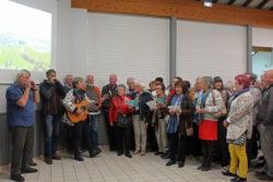 Inauguration : ensemble polyvalent et mise en souterrain : hymne