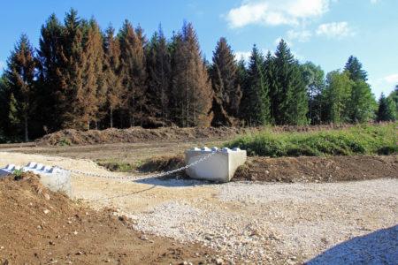 Plateforme de stockage de déchets verts de Menthonnex-en-Bornes