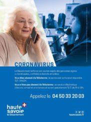 Service téléphonique de soutien aux personnes âgées et handicapées : 04 50 33 20 03