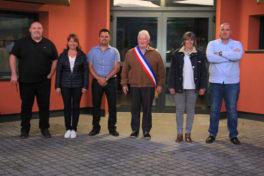 Maire, adjoints et conseiller délégué