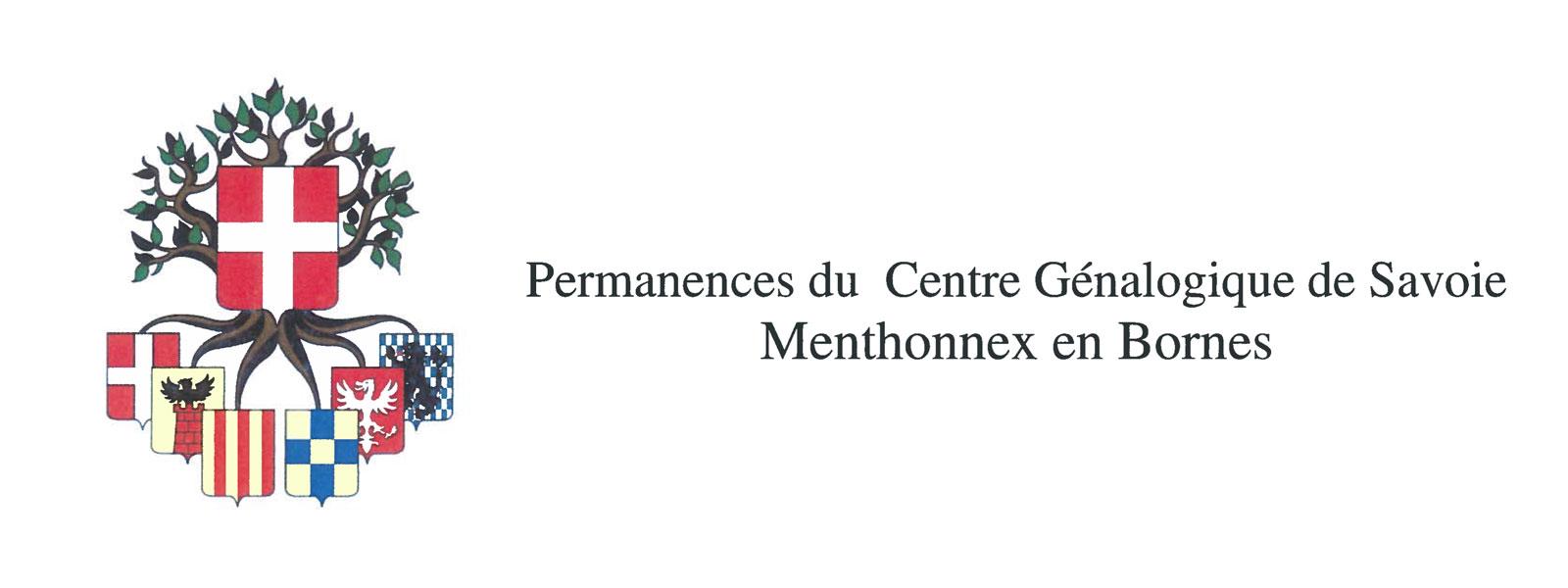 Permanences du Centre Généalogique de Savoie