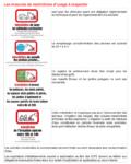 Mesures de restriction des usages de l'eau - Niveau alerte