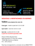 Cours de gym par Va Sport Performance