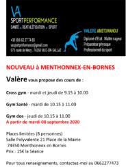 Cours de gym par Va Sport Performance