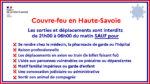 Couvre-feu en Haute-Savoie