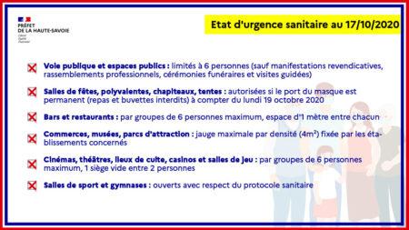 Covid 19 : instauration de l'état d'urgence sanitaire