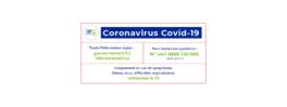 Covid-19 : réponses à vos questions