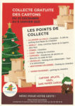 Collecte gratuite de cartons du 23 décembre 2020 au 6 janvier 2021