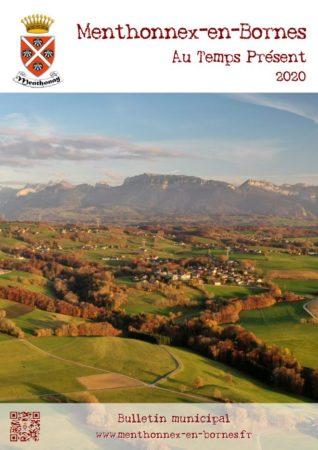 Couverture du bulletin d'info 2020