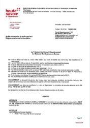 Fermeture de la RD 27 pendant trois jours dans la période du 3 au 12 mai 2021